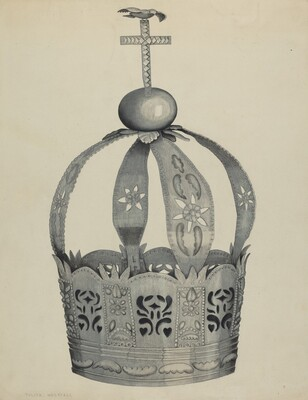Silver Crown (Crown of the Holy Ghost)
