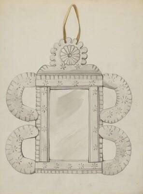 Tin Mirror Frame