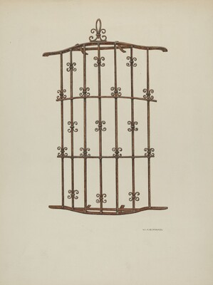 Iron Grille at Window