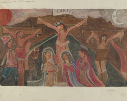 Station of the Cross No. 12: Jesus Dies Upon the Cross