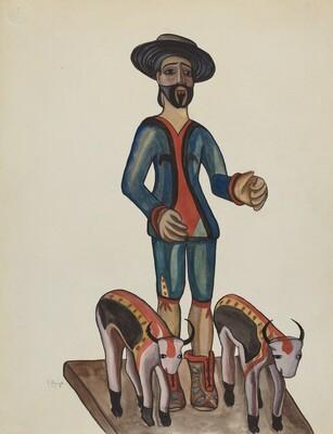Bulto of San Ysidro