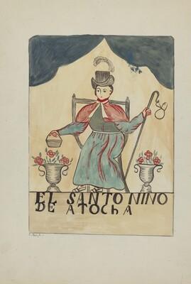 Retablo-Child's Saint