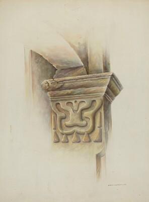 Capital on Column