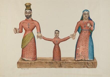 Bulto (The Holy Family)