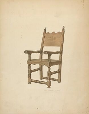 Sacristy Chair