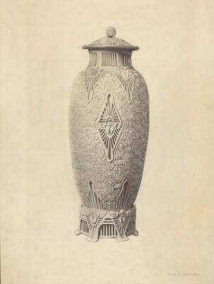 Robineau Scarab Vase