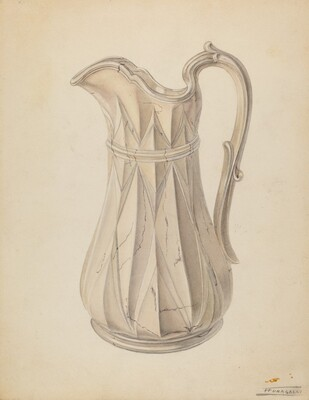 Wash Bowl and Pitcher