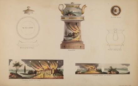 Spirit Lamp with Teapot