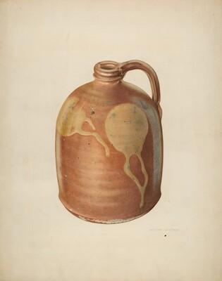 Galena Pottery Jug