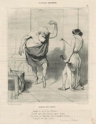 Socrate chez aspasie