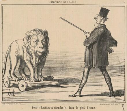 Pour s'habiteur a attendre le lion ...