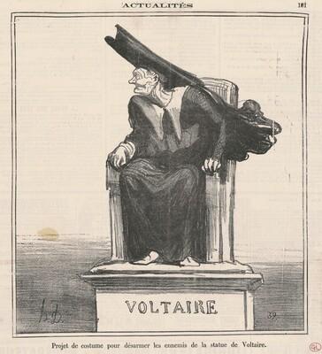 Projet ... Pour désarmer les ennemis de ... Voltaire