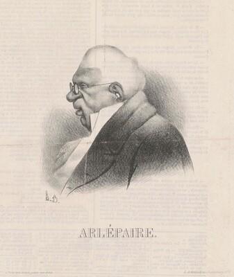 Harlé Père, en buste