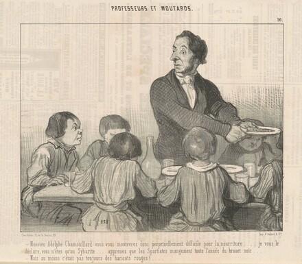 Monsieur Adolphe Chamouillard vous vous montrerez donc ...