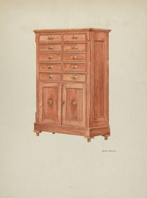 Highboy (Chest of Drawers)
