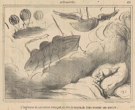 L'ingénieur du Leviathan trouvant, en rève ...