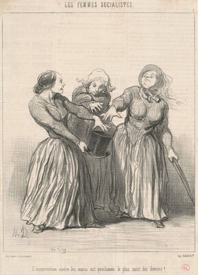 L'insurrection contre les maris ...