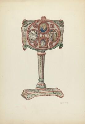 Reliquary of Father Junipero Serra