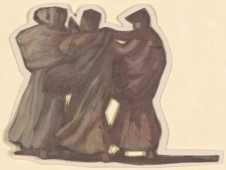 Three Figures (study for Greek Girls Bathing)