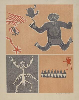 Petroglyph - Human Figures