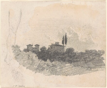 Landscape with Villa [recto]
