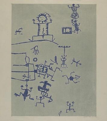 Petroglyph - Signs