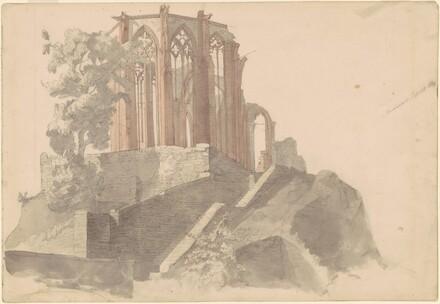 Bacharach, Cathedral Ruins