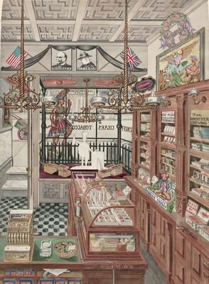 Cigar Store, 1901