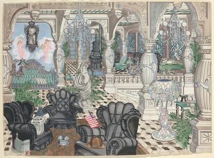 Foyer's Men's Club, 1880-1910