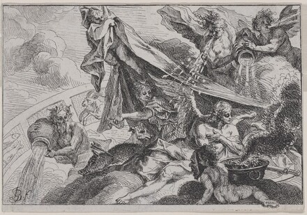 Allegory of Winter with Diana the Huntress