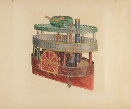 Model of a Side-Wheeler