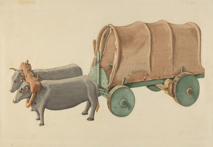 Miniature Oxcart