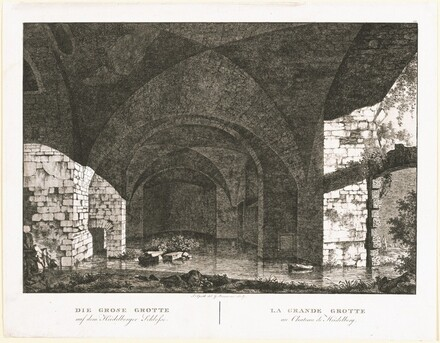 Die Grosse Grotte auf dem Heidelberger Schlosse (The Large Grotto at Heidelberg Castle)