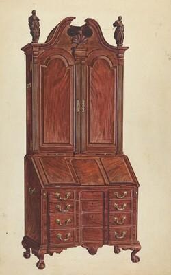 Cabinet-Top Desk