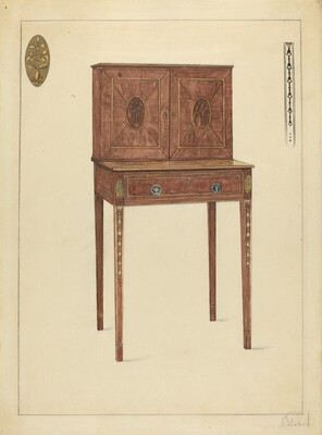 Lady's Writing Cabinet