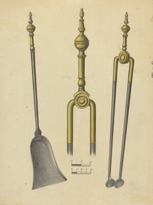 Tongs and Shovel