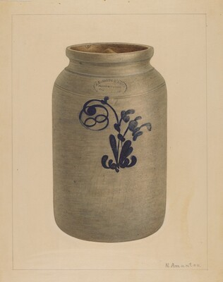 Cookie Jar with Cover
