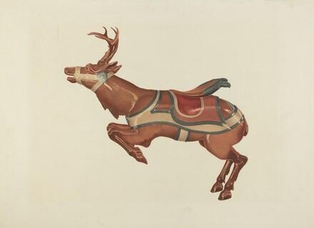 Carousel Reindeer