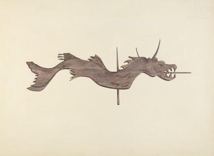 Dragon Weather Vane