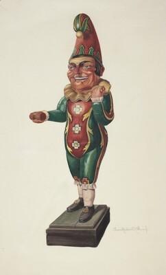 Cigar Store Figure: Punch