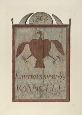 R. Angell's Tavern Sign