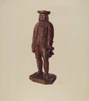 William Penn Carving