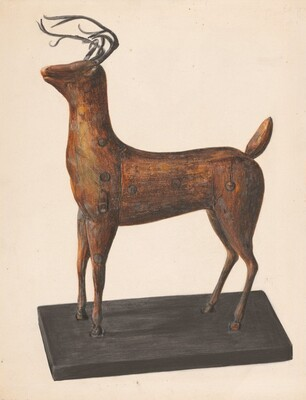 Figure of a Deer