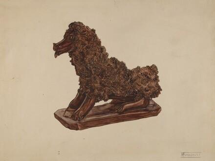 Dog Statuette
