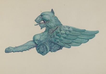 Ornamental Iron Griffon