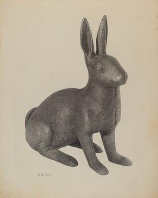 Garden Figure (Rabbit)