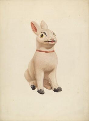 Chalkware Rabbit