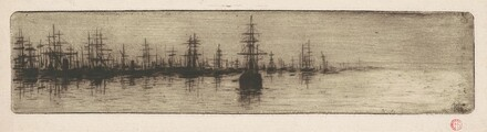 Tall Ships in a Harbor