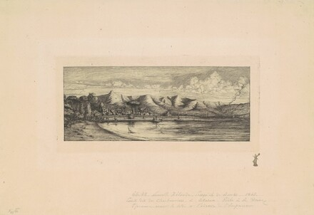 Nouvelle Zélande, Presqu'ile de Banks (View of Collier's Point, New Zealand)