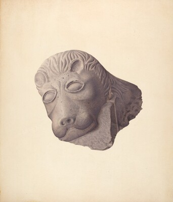 Lion's Head (one of pair)